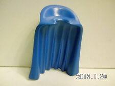 S143-Playmobil-capa Lang con stahkragen-Hart plástico, azul