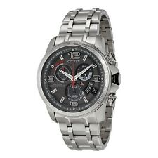 Citizen Eco-Drive Men's BY0100-51H A-T Chronograph Alarm Bracelet 44mm Watch