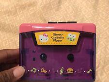 Sanrio Vintage Cassette Tape Player Hello Kitty Keroppi