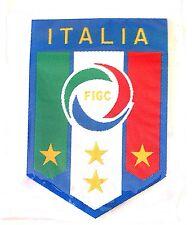 L'ITALIA DI CALCIO RICAMATO Souvenir Crest FERRO SU TOPPA BADGE