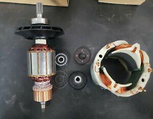 Bosch RH540 Motor Rebuild Set (Armature, Field Coil, Brush Set)