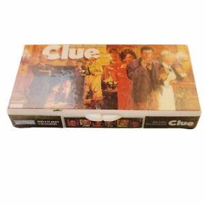 Vintage 1998 Hasbro Clue Board Game Keychain w/ Gunn Dagger and Dice Charms