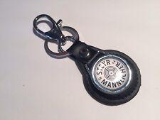 """STEYR MANNLICHER"""" 1864' armes à feu en cuir véritable Porte-clés"""