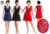 Hell Bunny Hali Dress Size XS - XL