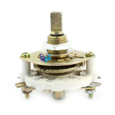 KCZ 2X3 D Shaft 2P3T 2 Pole 3 Position Band Channel Rotary Switch Selector 10mm