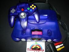 NINTENDO 64 N64 PURPLE GRAPE LIMITED EDITION PAL CONSOLE COMPLETE SPECIAL PRICE