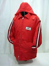 "Avon Sports Wear Men's XL Red Nylon Coat Hood with ""Johnson"" Motor Boat Logo"