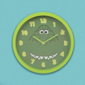Disney Toy Story 4 Rex Design Child's Wall Clock Green