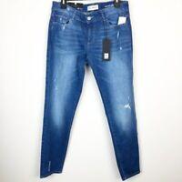 DL1961 Azalea Womens Sz 28 Relaxed Mid Rise Skinny Denim Jeans Stretch NWT