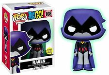 Funko-Figurine Dc Comics Teen Titans Go Raven Glow in the Dark N Pop 10 cm
