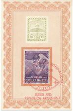 ARGENTINIEN 9.11.1950 Internationale Briefmarkenausstellung, Buenos Aires SST