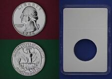SILVER 1956-P Proof George Washington Quarter with DIY Slab Flat Rate Shipping