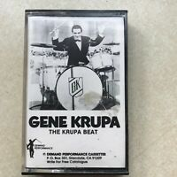Gene Krupa The Krupa Beat Cassette Tape