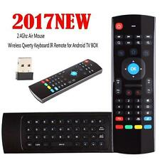 2.4G Wireless Tastatur Air Maus Remote Control Fernbedienung für Android TV Box