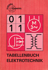 4c- EUROPA LEHRMITTEL - TABELLENBUCH ELEKTRONIK