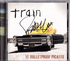 Bulletproof Picasso Train CD Pat Monahan signed autographed Charity New Sealed