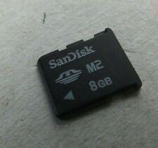 Original SanDisk 8GB Memory Stick M2 Micro 8 GB Neu San Disk Speicherkarte Card