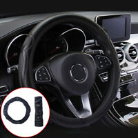 15inch/38cm Universal Car Steering Wheel Cover Leather Breathable Anti-slip