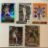 (5 LOT) 2018-19 Panini Chronicles Prizm Jaren Jackson Jr. RC Rookie Studio Holo