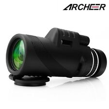 ARCHEER 40X60 Day &Night Vision Dual Focus HD Optics Zoom Monocular Telescope UK