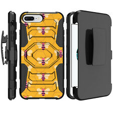 """For Apple iPhone 8 Plus 5.5"""" (2017) Holster Case Shockproof Clip Stand"""