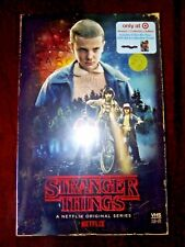 STRANGER THINGS SEASON 1 BLU RAY DVD TARGET EXCLUSIVE VHS PACKING + POSTER new