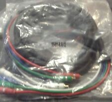 Calrad HDTV Component Video Cable 5 RCA 12 FT RGB HDTV DVD VCR High Pro Quality