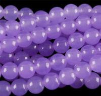 Natural 6/8/10/12mm Purple Alexandrite Round Gemstone Loose Beads 15''AAA
