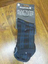 ENDURA PLAID CYCLING SOCKS  - L-XL