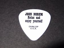 John Norum RARE Authentic Guitar Pick Relax And Enjoy Yourself Europe Dokken WOW