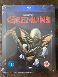 Gremlins - Blu-ray Steelbook - NEW & SEALED Rare UK Zavvi Exclusive