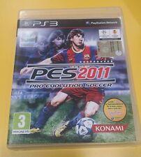 Pes 2011 Pro Evolution Soccer GIOCO PS3 VERSIONE ITALIANA