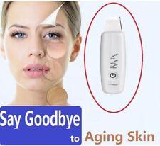 Rechargeable Ultrasonic Facial Dead Skin Scrubber Spatula Remover Rejuvenation