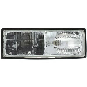 Headlight For 87 88 89 90 Chevrolet Caprice Right Clear Lens With Bulb