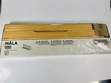 "Ikea Mala Tabletop 17.75"" Paper Roll Holder Arts Crafts Pens Paint Pine Wood New"