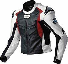BMW Racing Motorbike Leather Jacket MOTOGP Motorcycle Mens Biker Leather Jackets