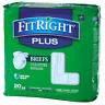 MedlineFitRight Plus Briefs Large