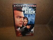 New ! *Out of Reach* Steven Seagal VHS Action Martial Arts Movie Karate Aikido