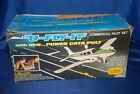 Vintage U-Fly-It Instructor Commercial  Pilot Set model airplane toy - unused