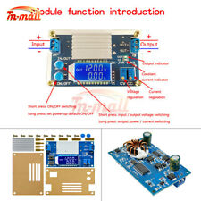 12A Adjustable Step Down Module Buck Power Supply Board With LCD Digital Display