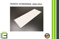 Kunststoffleiste selbstklebend 20-120mm Abdeckleiste Flachleiste Fensterleisten