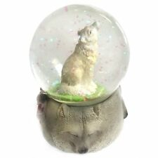Ravensden Wolf Snow Globe - Collectable Snowglobe Gift Idea Decoration Christmas