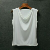 Lady Silk Tank Tops Vest Sleeveless Shirt Tees Soft Camisole Blouse Casual Basic
