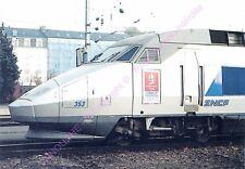 CP 44000 NANTES GARE  TRAIN TGV Rame TGV A 353