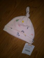 NWT Gymboree Infant Girls Beanie Hat Pink Icons Size Newborn