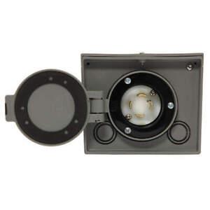 GENERAC 6340 Power Inlet Box,30 Amp