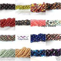 10mm Semi Precious Gemstone Rounds Beads Jewellery Making  (approx. 36-40 beads)