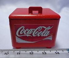Escala 1:12 Caja de 6 botellas de Coca Cola Cooler