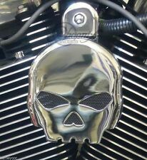 COVER CLACSON TROMBA X HARLEY DAVIDSON MOD.SKULL SPORTSTER DYNA SOFTAIL TOURING