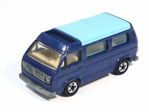 HOT WHEELS VW Volkswagen T3 Bus SUNAGON Made in MEXICO mf. blue BWs VHTF